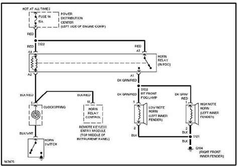Pt Cruiser Fog Light Wiring Diagram by 2003 Pt Cruiser Wiring Schematic Poklat