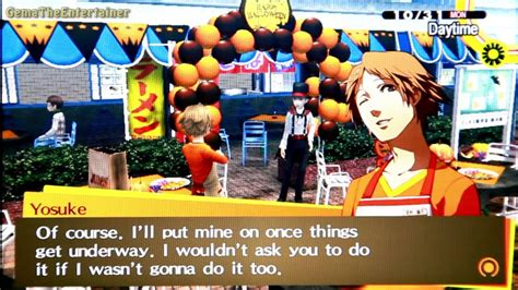 persona golden halloween event junes youtube