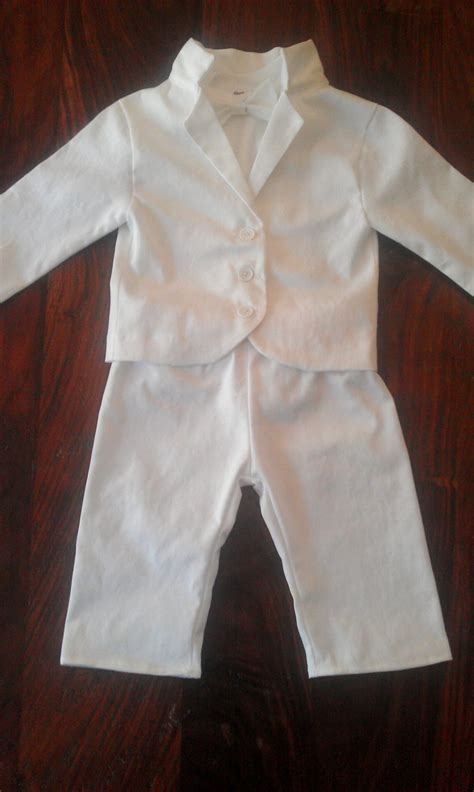 Baby Boy Baptism Outfit Christening Blessing by kickandgiggle