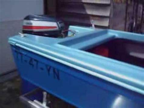 Speedboot Pk by Skibsplast Speedboat 55 Pk Yamaha Outboard Trailer Youtube