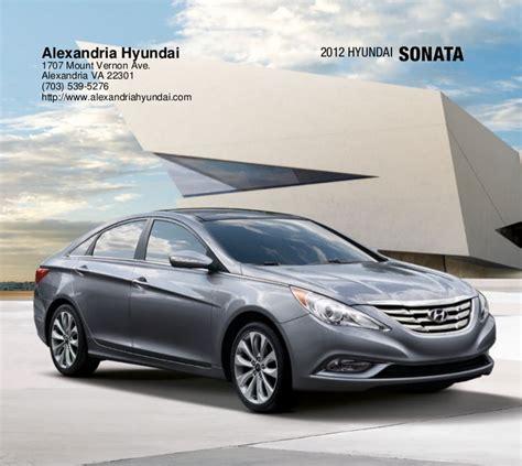 Hyundai Sonata Dealer by 2012 Hyundai Sonata For Sale Va Hyundai Dealer In Alexandria