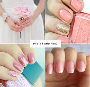 Nail Designs: Pretty Pink Nail Art Design For Your Wedding ...