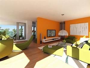 Inspirace obývací pokoj malba