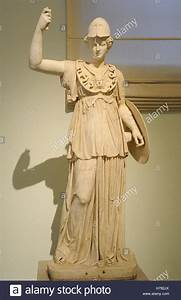 Athena. Goddess of ancient Greek religion. 2nd century AD ...