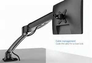 monitor desk mount stand fully adjustable for 1 screen up