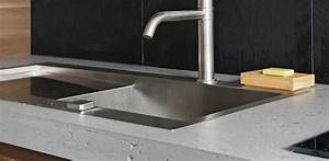 Jambage Plan De Travail : plan de travail et jambages en beton lege concrete lcda ~ Melissatoandfro.com Idées de Décoration