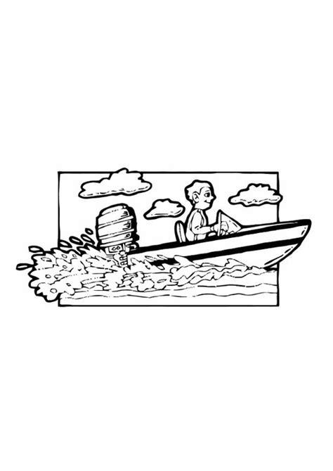 Speedboot Kleurplaat by Kleurplaat Speedboot Afb 10585 Images