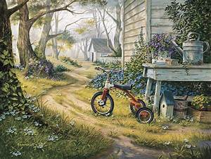 Easy Rider Painting by Michael Humphries
