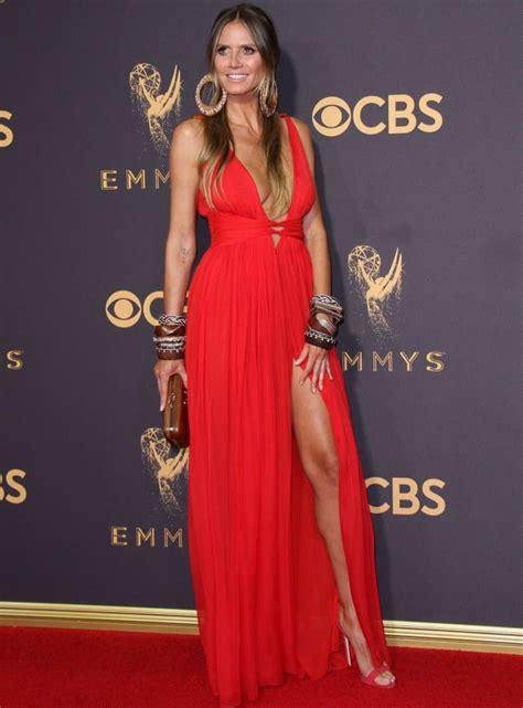 Heidi Klum Styles Hot Outfits With Giuseppe Zanotti