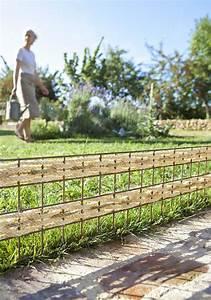 idee bordure jardin recup idees sur les parcs et leur With decoration jardin avec pierres 6 differents bordures de jardin archzine fr