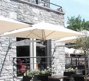 umbrosa paraflex wand sonnenschirm 190 premium square art With französischer balkon mit premium sonnenschirme