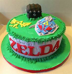 Legend Of Zelda Cake - CakeCentral com