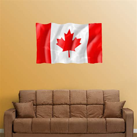 wall mural decals canada flag of canada fathead wall decal