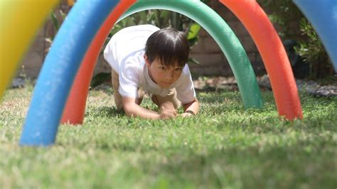 The Ultimate Diy Backyard Obstacle Course For Kids-youtube
