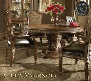 Villa Valencia Round Table Dining By Aico Aico Dining