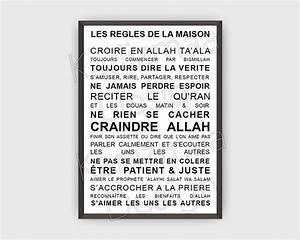 Regle De La Maison A Imprimer : 7 best kariizmaa design shop images on pinterest ~ Dode.kayakingforconservation.com Idées de Décoration