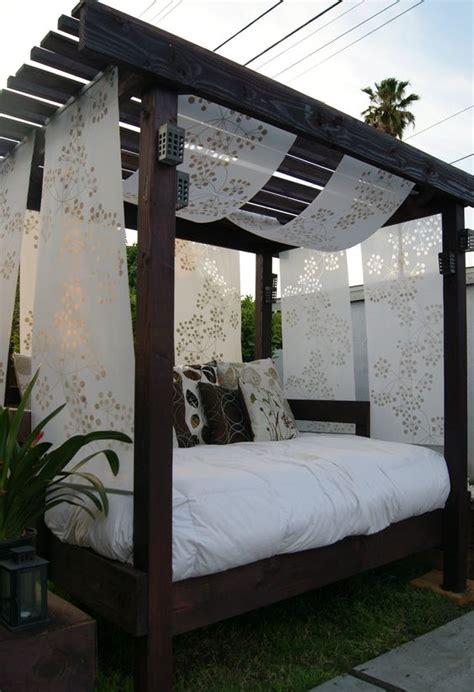 cabana for backyard diy cabana for the backyard with an old used futon i