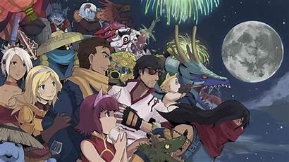 Animated League Legends Lol Anime Wallpapers Wallpapersafari