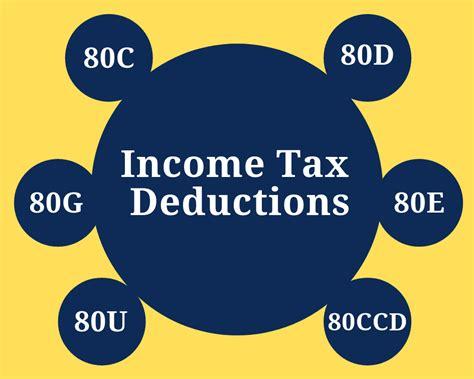 income tax deductions  india capitalantecom