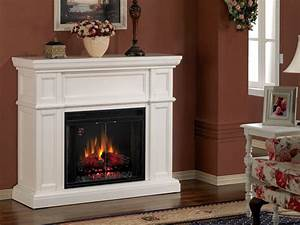 Indoor Electric Fireplace On Custom
