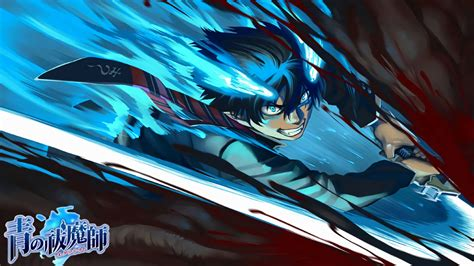 Blue Exorcist Wallpaper Hd Rin Okumura Blue Exorcist Anime Wallpaper 24207