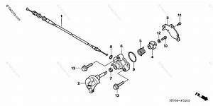 Honda Atv 2007 Oem Parts Diagram For Reverse Cable