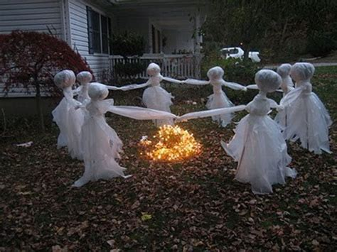 scary ideas for decorations outside decorating ideas scary