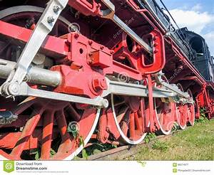 Old Steam Engine On Display In Resita Romania Stock Image