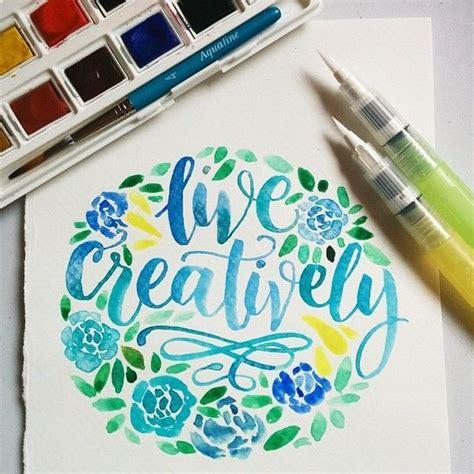 watercolour pens ideas  pinterest card