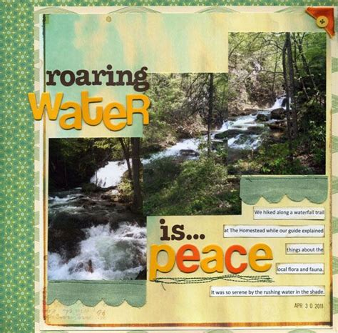 Blog Nature Trail Templates by Ideas And Angles For Scrapbooking Your Outdoor Travel And