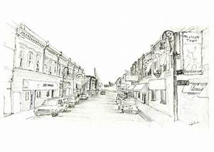 Urban Design City Sketching - Lydia Marsh