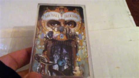Michael Jackson Dangerous Cassette by Michael Jackson Dangerous Cassette Unboxing