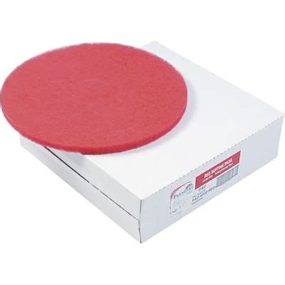 premiere pads red floor buffing pads 18 inch qty 5