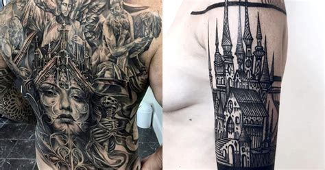 Gothic Tattoos That Take After Medieval Art And Art History Library School Of Visual Arts Los Angeles Classes Enfield Pencil Home Master And Science Tattoo On Breast Sword Volume 19 Movement Last