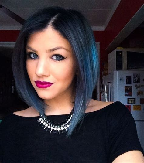 How to Experiment with Blue Hair for Dark Hair   Hair
