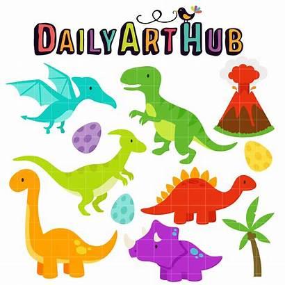 Dinosaur Dinosaurs Clipart Clip Hub Birthday Printable