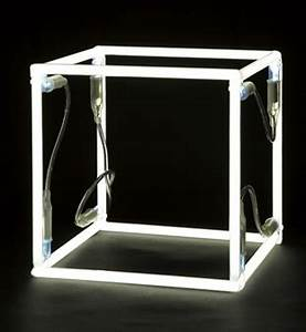 Jeppe Hein Neon Cube 2006 Neon tubing and