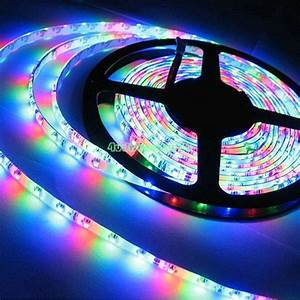 Led Stripes : 12v rgb led strip lights 5050 5630 smd power adapter beautiful nights decor ce3 ebay ~ Watch28wear.com Haus und Dekorationen