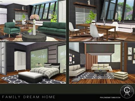 sims resource family dream home  pralinesims sims