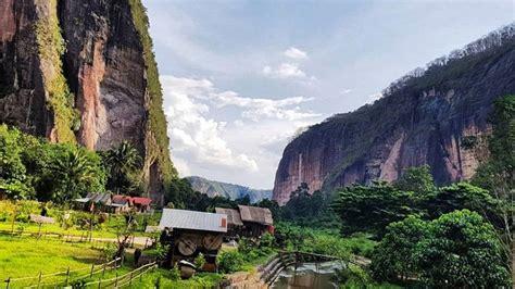 tawarkan lukisan alam eksotis lembah harau jadi wisata