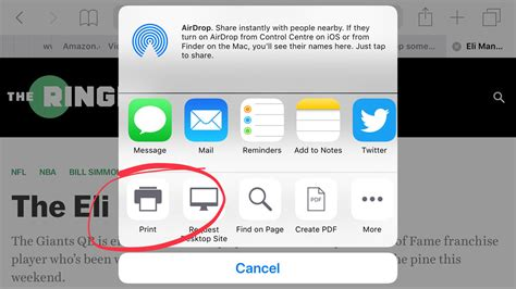 how to print a picture from iphone how to print wirelessly from iphone macworld uk