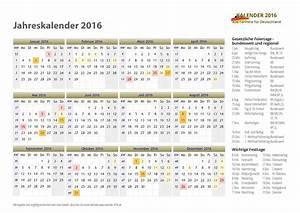 Kalender Zum Ausdrucken 2016 : kalender 2016 mit feiertagen ferien ~ Whattoseeinmadrid.com Haus und Dekorationen