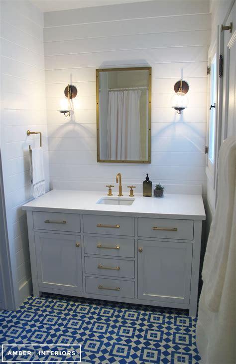 guest bathroom remodel amber interiors