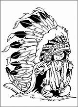 Inchworm Coloring Pages Cliparts Adult Clipart Native American Indian Boy Cartoon Cool Clip Pdf Library sketch template