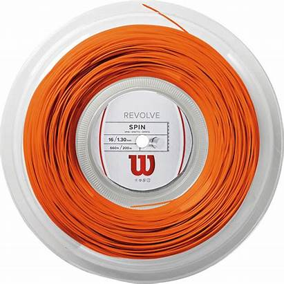 Tennis String Wilson Revolve Reel Orange 200m