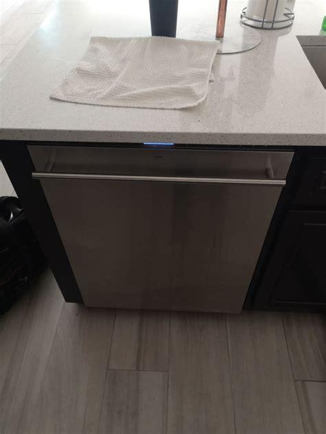 repair ge monogram dishwasher water   draining prime hvac appliance repair