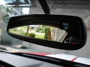 Gentex Homelink Mirror Install    Pics