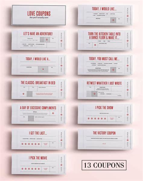 Coupon Book Template For Boyfriend by The 25 Best Ideas About Coupons For Boyfriend On