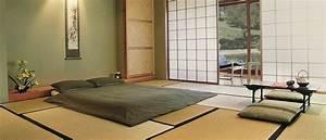 Japanisches Schlafzimmer Selber Machen : tatami room with futon and shoji in japan room japan world beechwood pinterest rund ums ~ Markanthonyermac.com Haus und Dekorationen