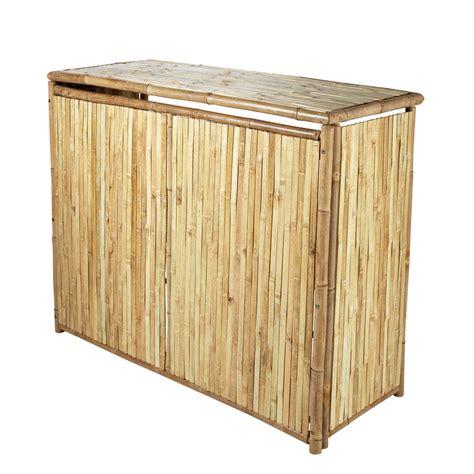 rangement chambre ado fille bar de jardin en bambou l 130 cm robinson maisons du monde